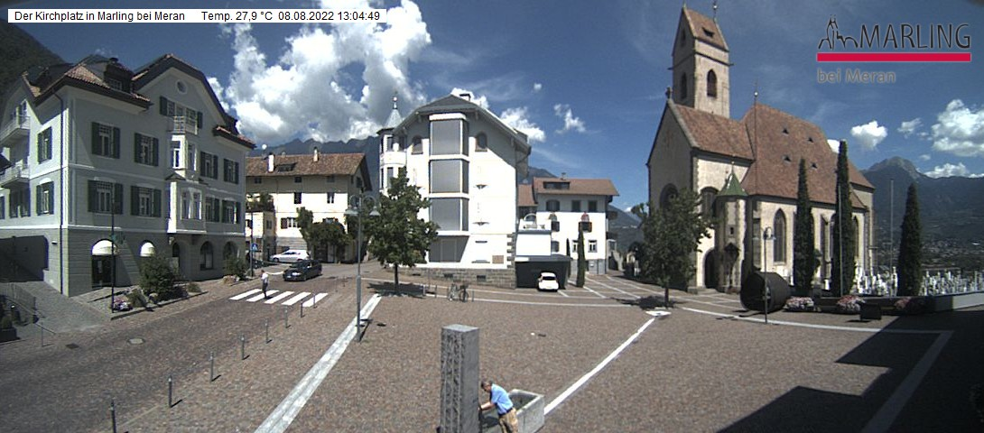 webcam : Webcam Kirchplatz in Marling