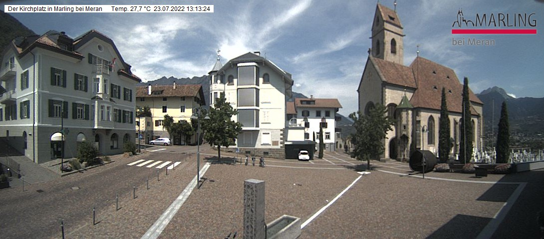 Webcam Marling Kirchplatz